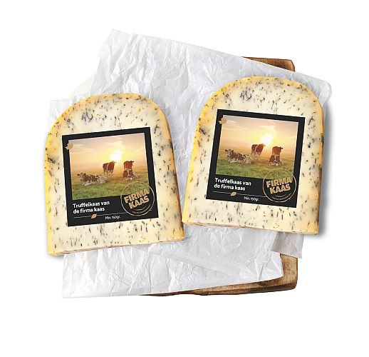 Boeren truffelkaas - de Firmakaas - kaas bestellen - www.NoordHollandseBoerenkaas.nl