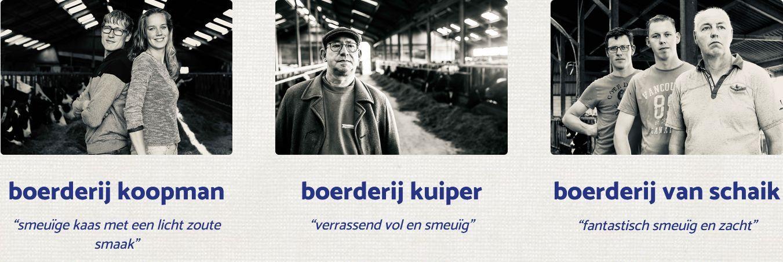 Knoflook/bieslook en truffelkaas combi - BoerenKaas door de brievenbus bezorgen - kaas bestellen bij DeFirmaKaas - www.NoordHollandseboerenkaas.nl