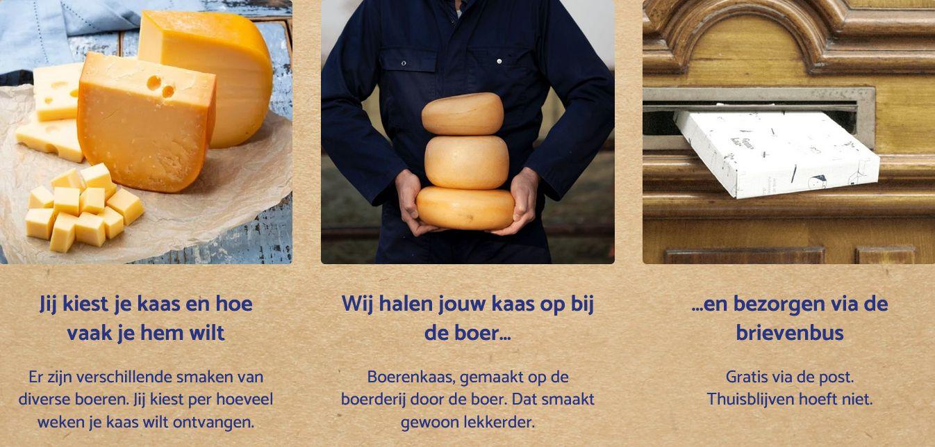BoerenKaas online bestellen bij DeFirmaKaas - Gratis thuisbezorgt - www.NoordHollandseboerenkaas.nl