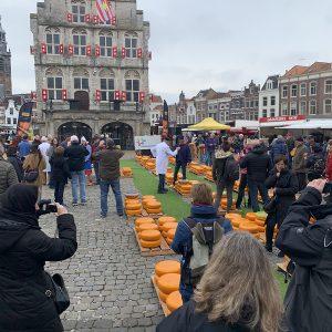 Bron VVV kaasmarkt de waag in Gouda