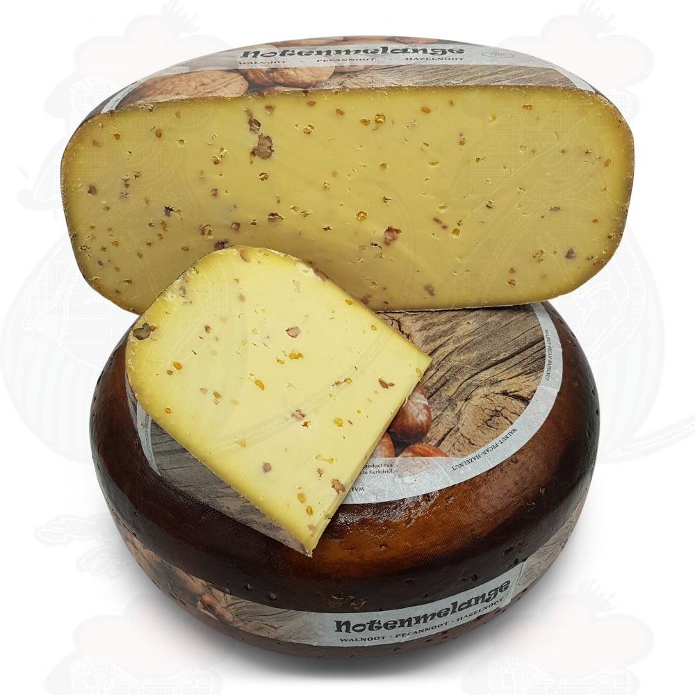 Fenegriek kaas kopen bij de boer - kaas online bestellen - Vers gesneden, vacuum verstuurd - kaas verzenden - www.NoordHollandseBoerenkaas.nl