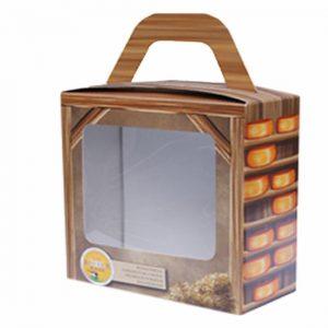 Geschenkdoos klein kaasje 800gr - Klein boerenkaasje 400 gram - www.noordhollandseboerenkaas.nl