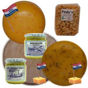 Kaas & Mosterd Cadeaupakket - kaaskado bestellen - www.NoordHollandseBoerenKaas.nl