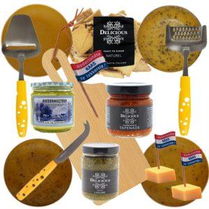 Kaaspakket Kaasfeest - kaaskado bestellen - www.NoordHollandseBoerenKaas.nl