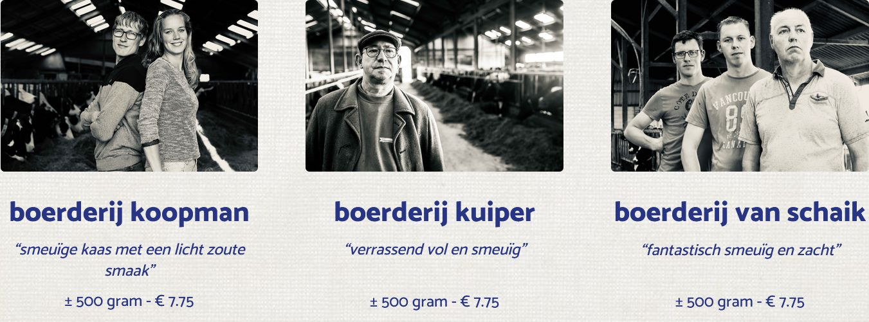 Kies je boerenkaas - BoerenKaas door de brievenbus - kaas laten bezorgen - kaas bestellen bij DeFirmaKaas - www.NoordHollandseboerenkaas.nl