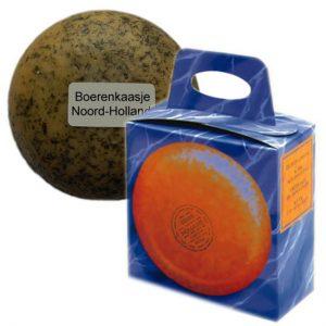 Klein kaasje kruiden in cadeau doosje - boerenkaasje 400 gram - www.noordhollandseboerenkaas.nl